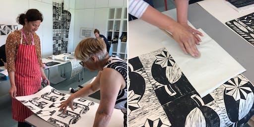 Wallpaper printing weekend