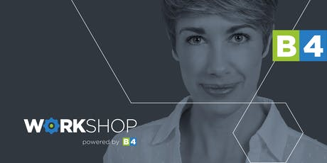 B4 Workshop with Kate Stinchcombe – Gillies: How to develop a PR strategy that builds your reputation for you tickets