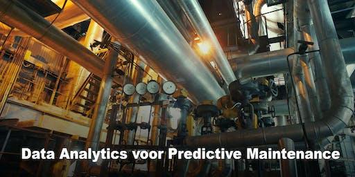 Data Analytics voor Predictive Maintenance   10, 11 & 31 oktober 2019   Amsterdam