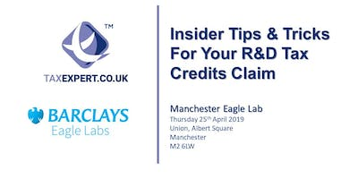 Insider Tips & Tricks For Your R&D Tax Credits Claim