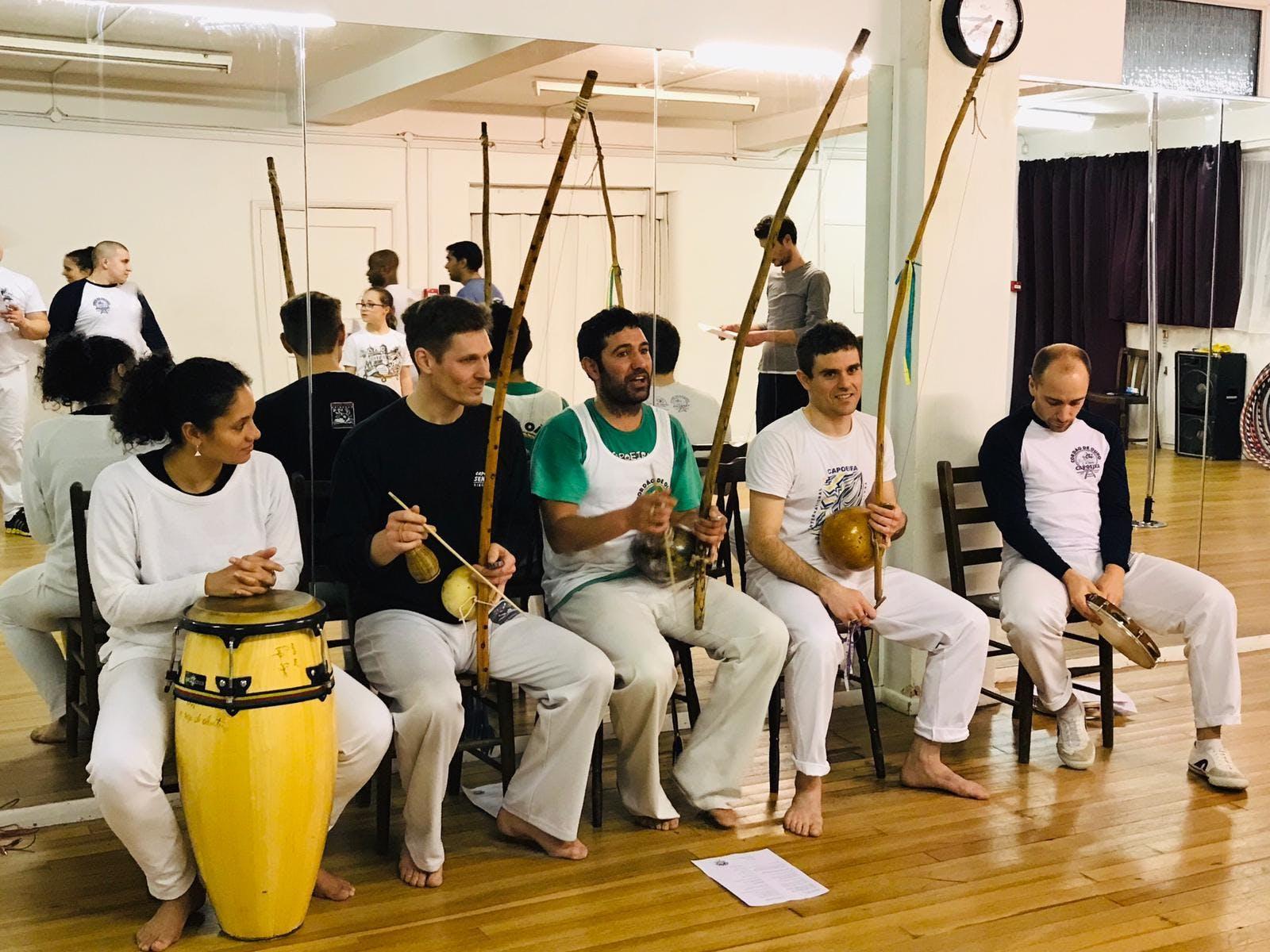 1st Free Capoeira Class