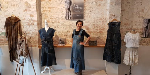 Refashioning natural-fibre clothes with Jane Milburn