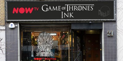 NOW TV Game of Thrones Pop-Up Tattoo Studio
