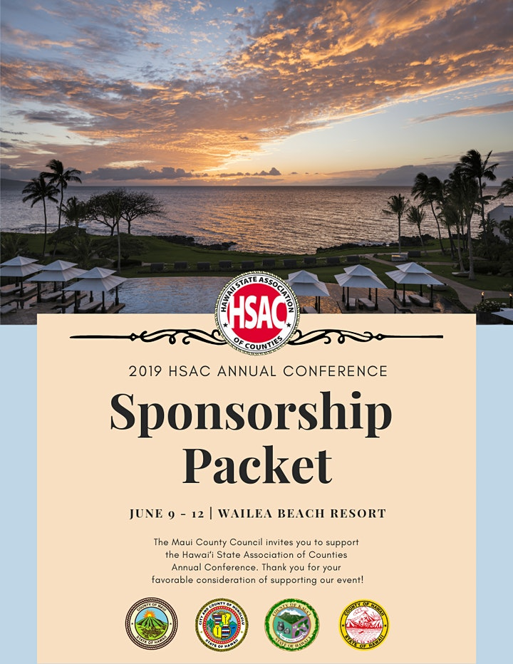 Hawaii State Association of Counties Annual Conference image
