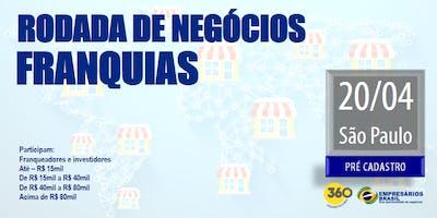 Rodada de negócios - FRANQUIAS - 20-04