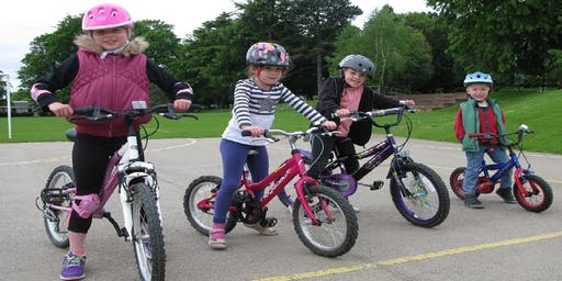 Children's Learn to Ride a Bike Session - Thornes Park, Wakefield.