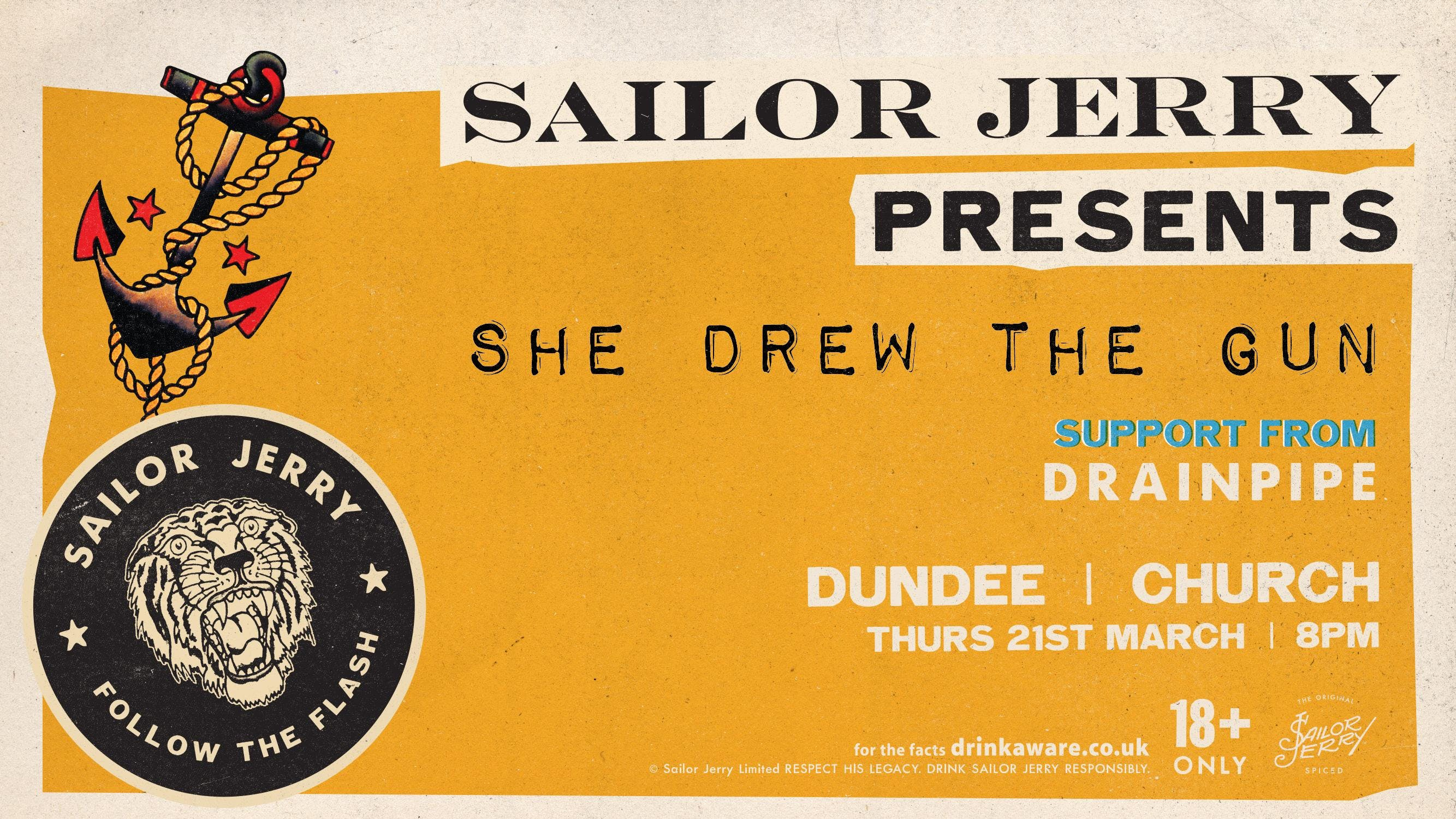 Dundee - Sailor Jerry presents Follow The Fla
