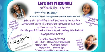 Let's Get Personal!  Sponsored by RicHER
