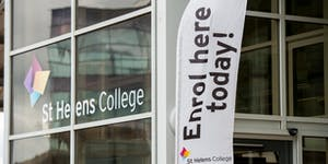 St Helens College Adult Enrolment and Information Event