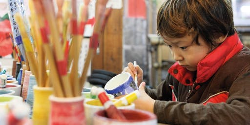 Ladybird Ceramic Planter Workshop 1-2pm