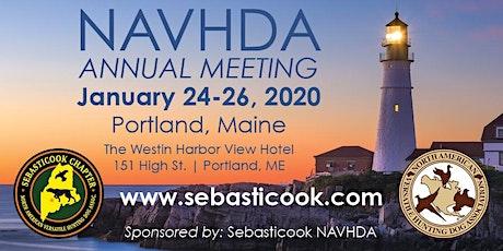 NAVHDA 2020 Annual Meeting - Portland Maine tickets