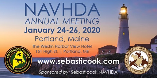NAVHDA 2020 Annual Meeting - Portland Maine