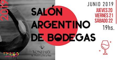 """Salón Argentino de Bodegas """"Tres Noches"""" entradas"""