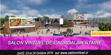 SALON VIRTUEL DE L'AGROALIMENTAIRE billets