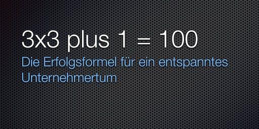 """Das """"3x3+1 = 100"""" der Unternehmensführung"""