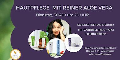 Aloe Vera für unsere Haut - FOREVER SKINCARE (mit Heilpraktikerin & Autorin Gabriele Reichard)