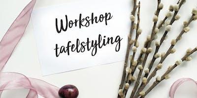 Workshop tafelstyling van Het Stijllab