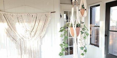 Macrame Workshop: Plant Hanger tickets
