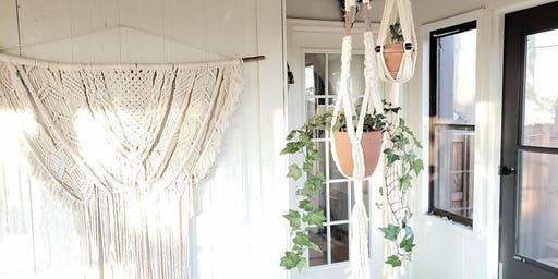 Macrame Workshop: Plant Hanger