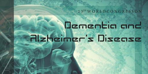 13th World Congress on Dementia and Alzheimer's Disease (AAC)