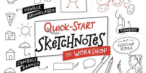 Quick Start Sketchnotes – Sketchnotes für Anfänger (und ein bisschen Fortgeschrittene)