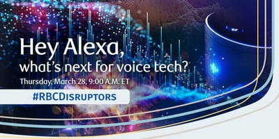 RBCDisruptors: Hey Alexa, what\