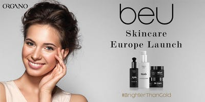 beU Skincare Europe Launch