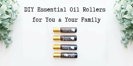 DIY Essential Oil Rollers (Free EO101 Class) tickets