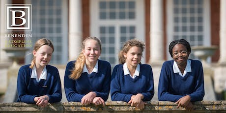 Benenden Open Morning - Saturday 5 October 2019 tickets