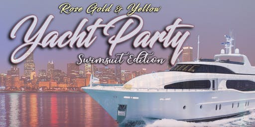 Whipped Luxe Yellow and Rose Gold Yacht Party