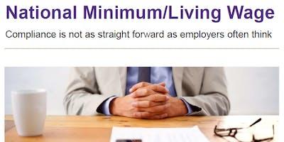 National Minimum Wage: avoiding accidental non-compliance