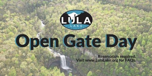 Open Gate Day - Sunday, July 28, 2019