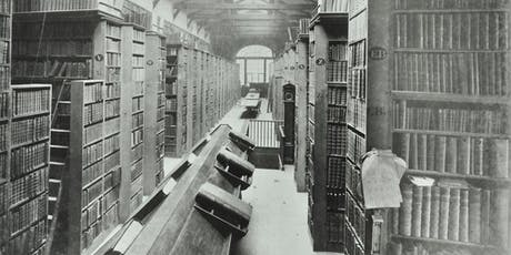 Walk: The City's Lost Libraries: A Walk through some Forgotten Book Collections (REPEAT) tickets
