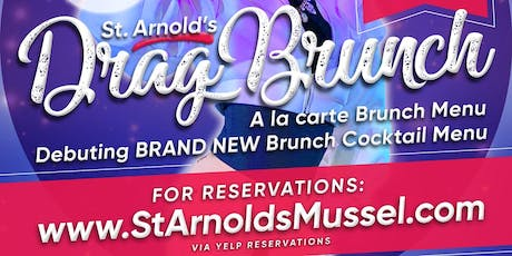 St Arnold's Drag Brunch: Cleveland Park @ The Abbey tickets