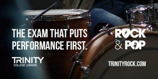 Trinity drumming workshops at the UK Drum Show, Manchester 2019
