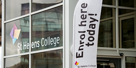 St Helens College Adult Enrolment and Information Event tickets