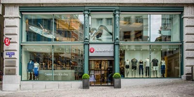 Weekly Complimentary Class on Saturday - lululemon Zurich