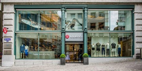 Weekly Complimentary Class on Saturday - lululemon Zurich tickets