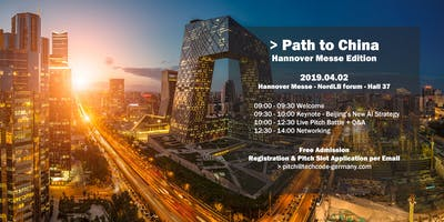 """Pitch Battle - \""""Path to China\"""" - 2019 Hannover Messe Edition"""