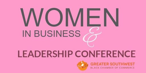 WOMEN IN BUSINESS AND LEADERSHIP CONFERENCE - Save the Date