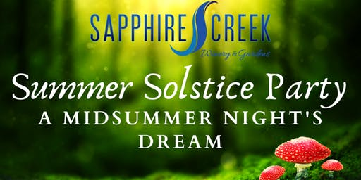 Summer Solstice Party - A Midsummer Night's Dream