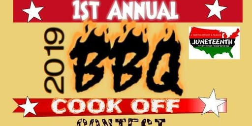1St Annual Juneteenth BBQ cook-off vendors