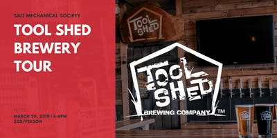 Tool Shed Brewery Tour - SAIT Mechanical Society