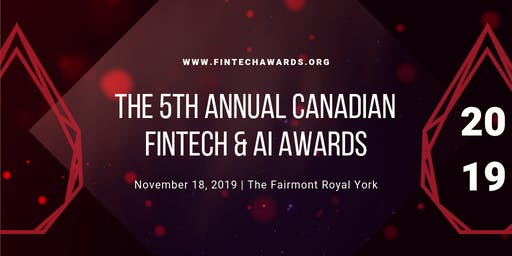 5th Annual Canadian FinTech & AI Awards