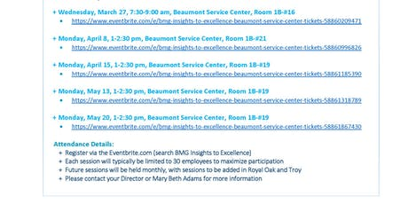 Beaumont Health Events | Eventbrite