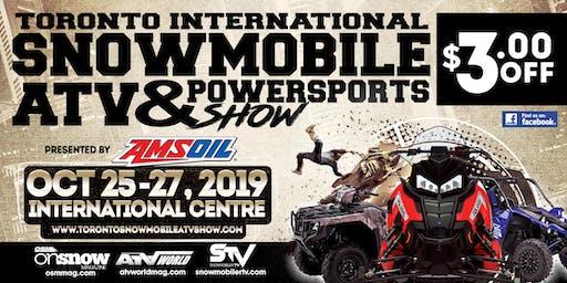 Toronto International Snowmobile, ATV & Powersports Show 2019