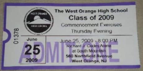 West Orange High School 2009 Class Reunion tickets
