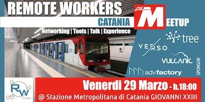 #3 Remote Workers Catania | Meetup @ Stazione Metropolitana GIOVANNI XXIII