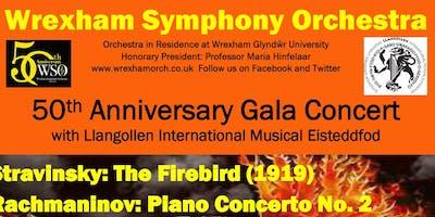 Wrexham Symphony Orchestra 50th Anniversary Gala Concert