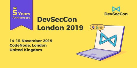 DevSecCon London 2019 tickets